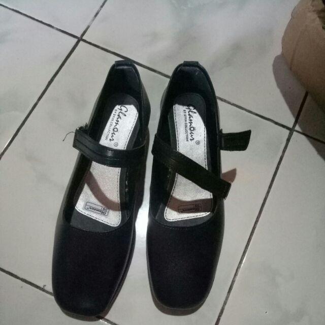 CONFIDENT - Sepatu Pantofel Wanita Tali Hitam   Shopee Indonesia -. Source · Kualitas produk