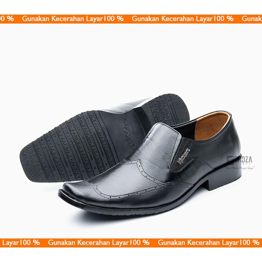 Sepatu Pantofel Pria 100% Kulit Sapi Premium untuk Kantor Kerja Pesta 902HT   9281a64f50