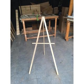 standing wood frame 109 cm / easle / standing frame kayu