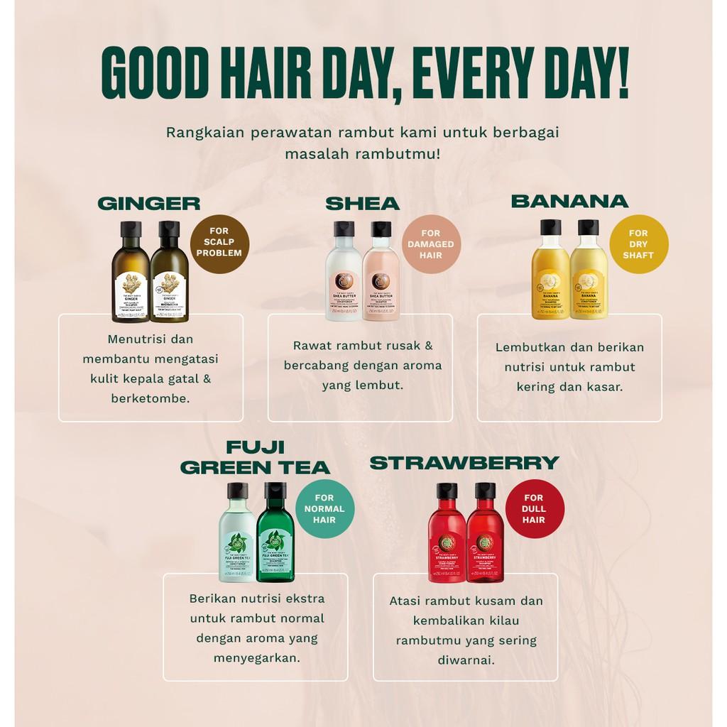 The Body Shop Hair Care Package Duo Fuji Green Tea Shampoo-3
