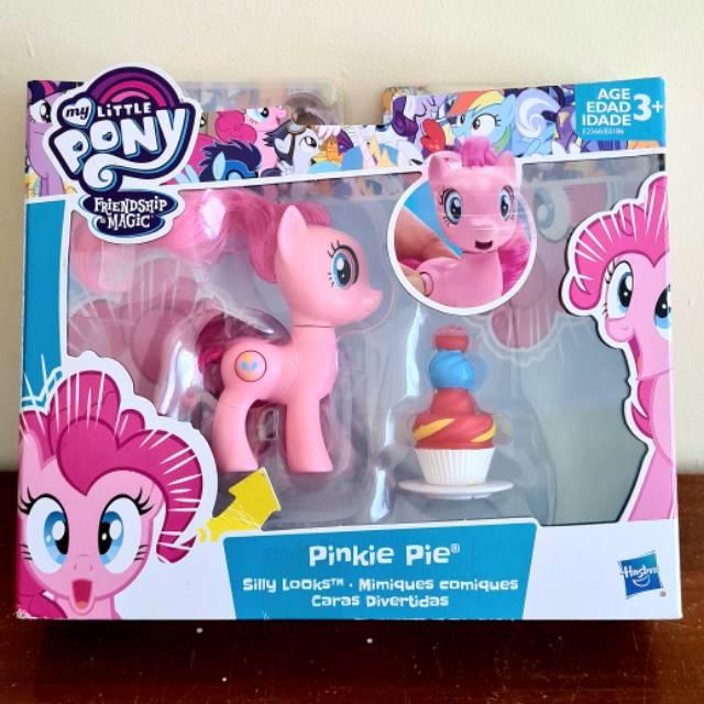My Little Pony Pinkie Pie Silly Look Mainan Kuda Pony Pink Rarity Pinkie Pie Rainbow Dash Fluttershy Shopee Indonesia