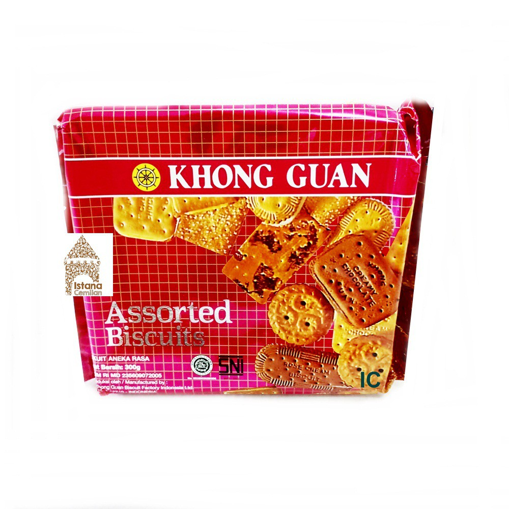Biskuitkemasan: Khong Guan Assorted Biscuits (Aneka Biskuit Dalam 1