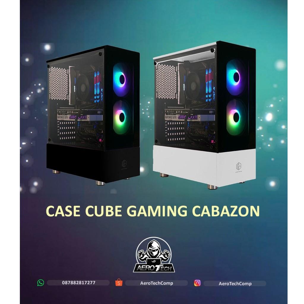 Casing Cube Gaming Cabazon Atx Joss Gandoss Shopee Indonesia