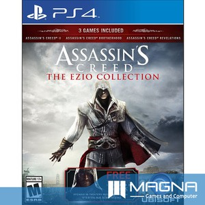 Ps4 Game Assassin S Creed Ac The Ezio Collection Shopee Indonesia