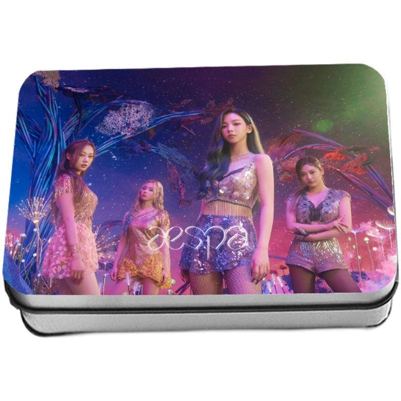 SM Aespa Album Lomo Card Photocard 40PCS/BOX
