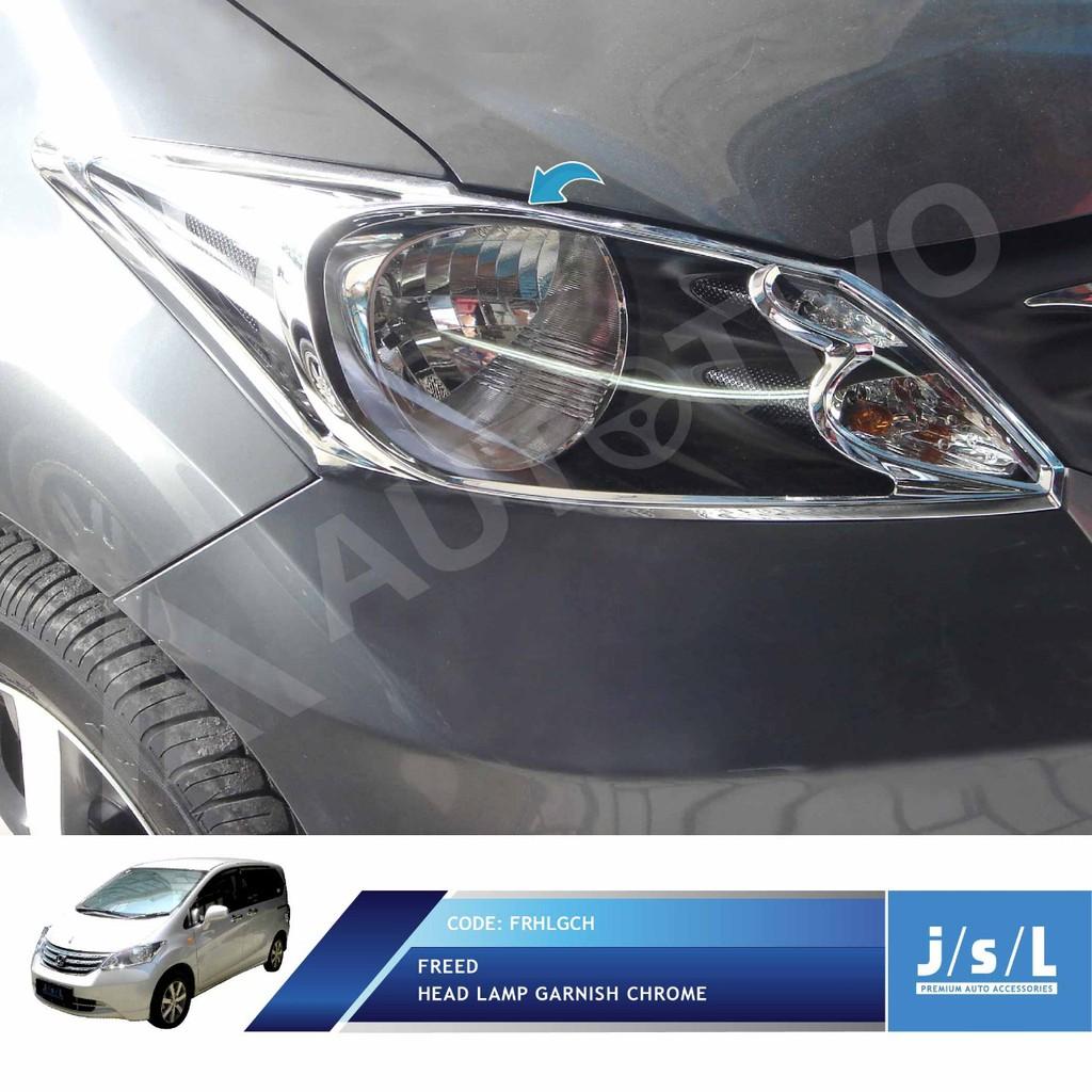 JSL Garnis Lampu Depan Suzuki Splash Krom Head Lamp Garnish Chrome | Shopee Indonesia