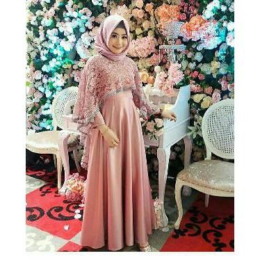 Baju Pesta Baju Kondangan Maxi Tiara Gaun Pesta Hijab Baju Muslim Pesta Murah Pusat Baju Wanita Mur Shopee Indonesia