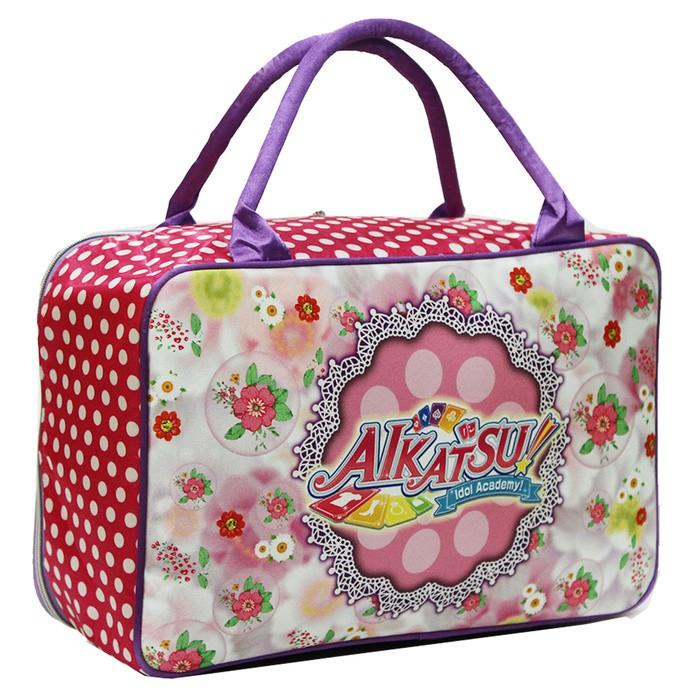 Travel Bag Karakter Hello Kitty Flower Bahan Kanvas - Purple   Shopee Indonesia