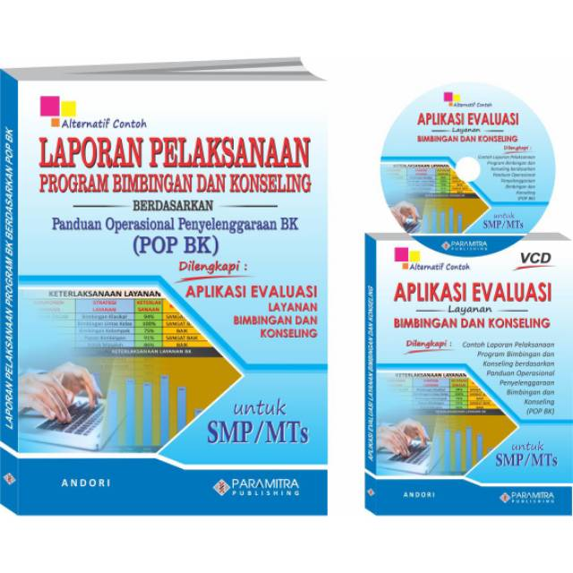Buku Konseling Laporan Evaluasi Pelaksanaan Pop Bk Smp Shopee Indonesia