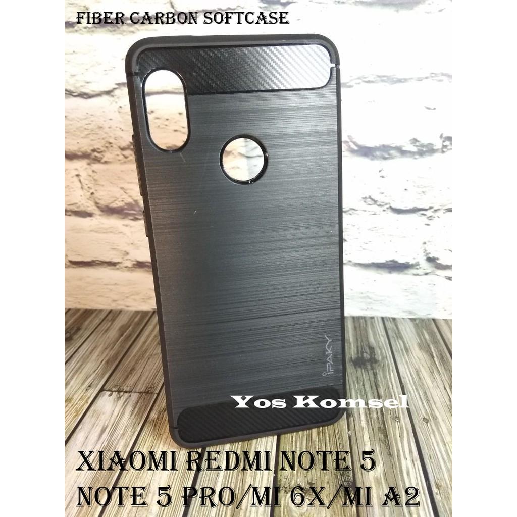 Casing Soft Case Bahan Tpu Untuk Xiaomi Redmi Note 5 Pro Shopee Ipaky Carbon Fiber Matte For Indonesia