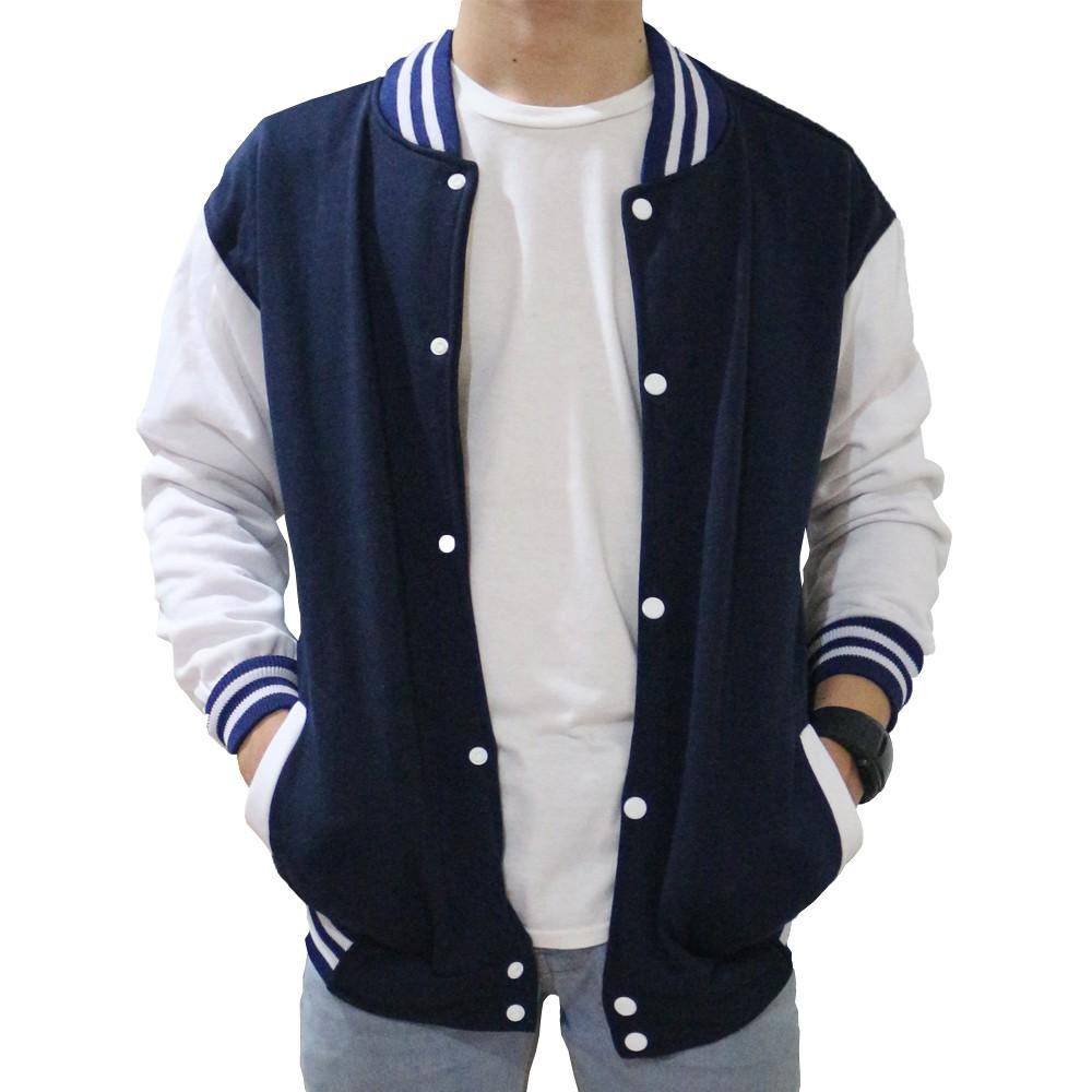 Jaket Sweater Polos Hoodie Jumper Fleece Hijau Botol Premium Biru Turkis Quality Shopee Indonesia