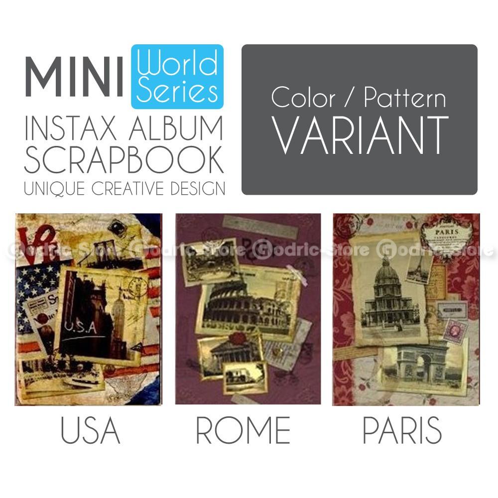 Sb 23 Scrapbook Album Pita Shopee Indonesia Foto Magentic Jumbo Doubletone