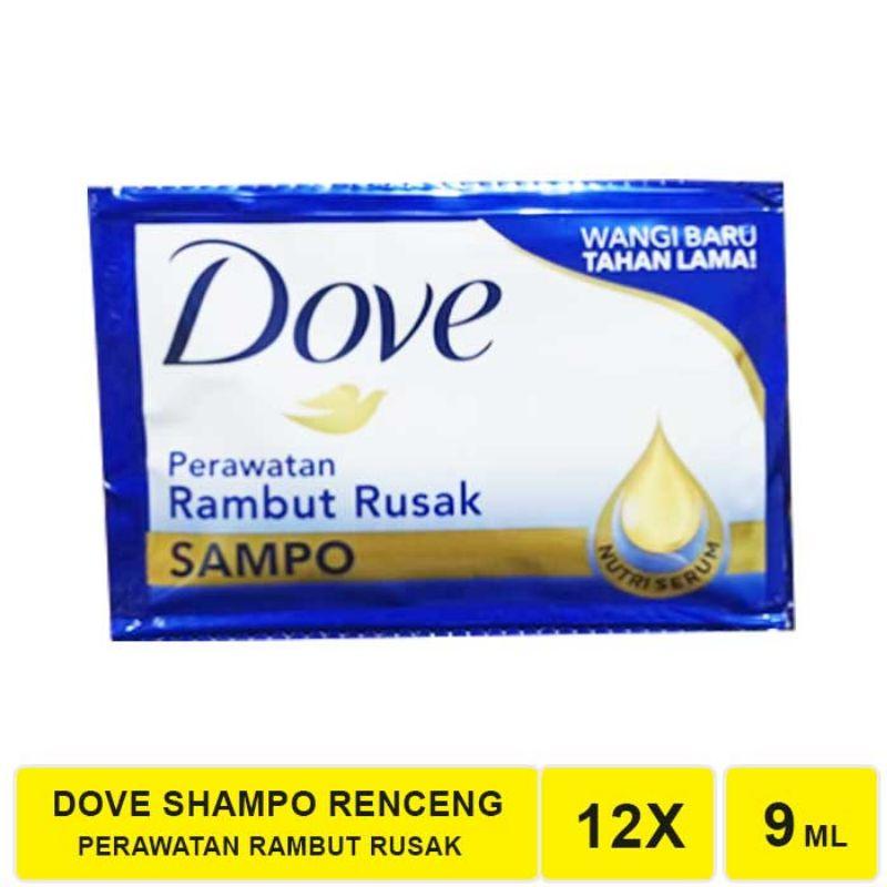 R&B Shampo Dove  Sachet 1 Renceng 12-Biru
