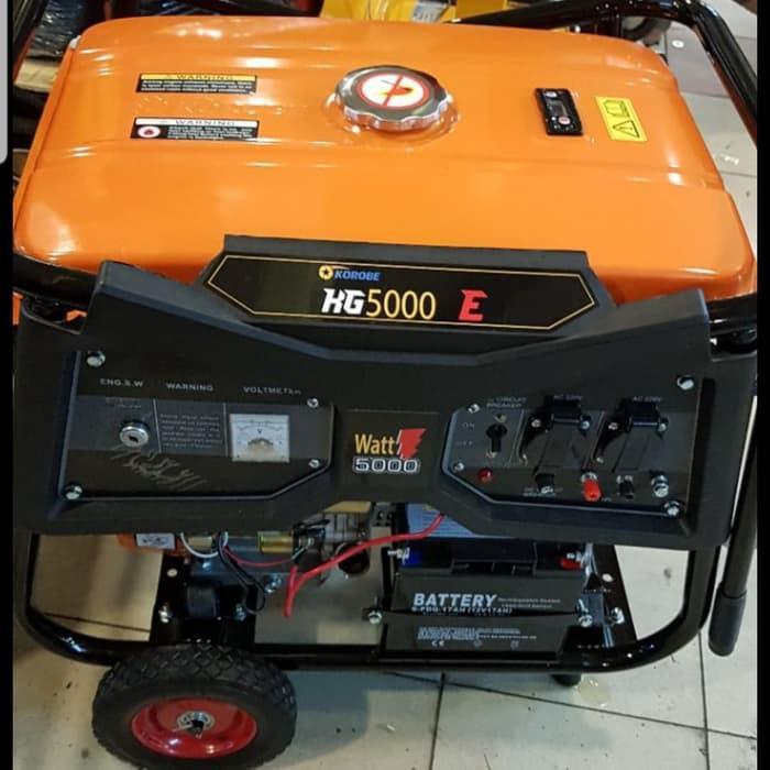 Generator / Genset / Genset Korobe 5000 Watt