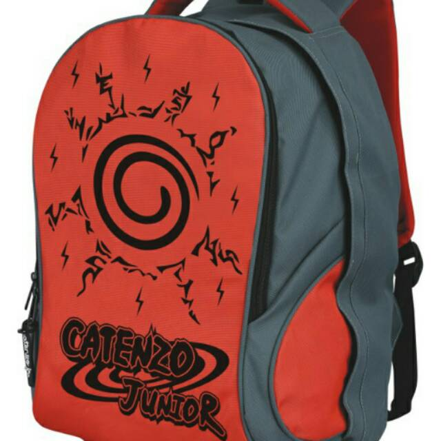 Tas Ransel Anak Laki Naruto Dinnir Orange Catenzo Junior 397.CRZ 178 | Shopee Indonesia