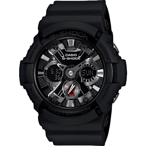 Jam Tangan G-Shock Original Casio Full Black GA-201-1A Casio G-Shock