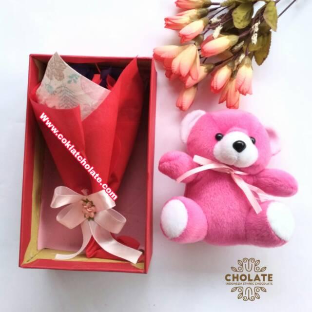Buket Coklat Kado Ulang Tahun Cowok Shopee Indonesia