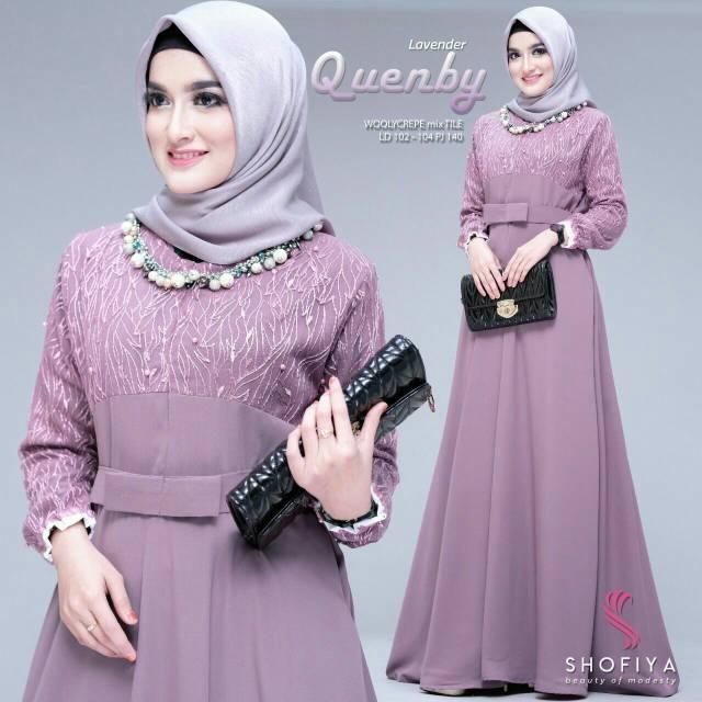 Harga Gamis Elegan Terbaik Dress Muslim Fashion Muslim Maret 2021 Shopee Indonesia