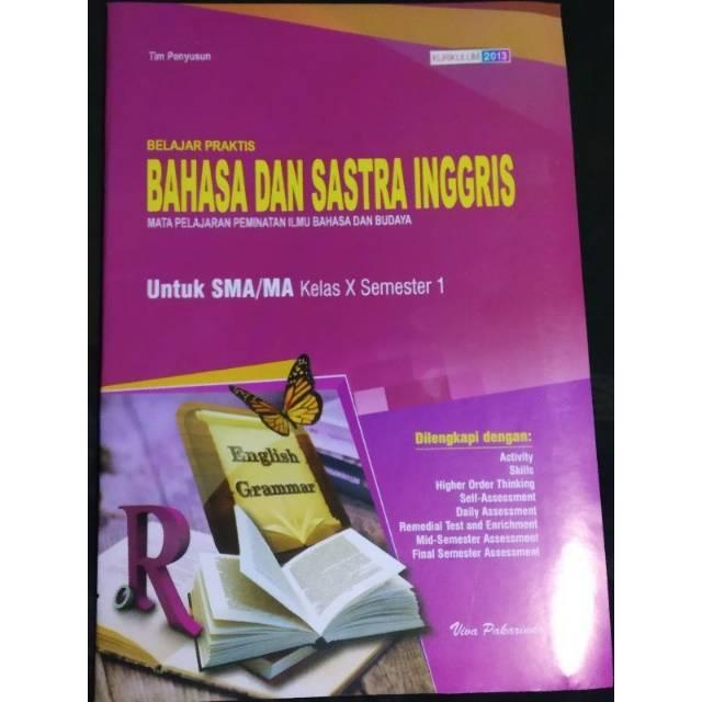 Lks Bahasa Dan Sastra Inggris Sma Ma Kelas 10 Semester 1i Viva Pakarindo Shopee Indonesia