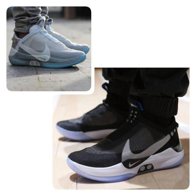 Nike Adapt Bb Mag Sneakers Sepatu Jalan Pria Shopee Indonesia