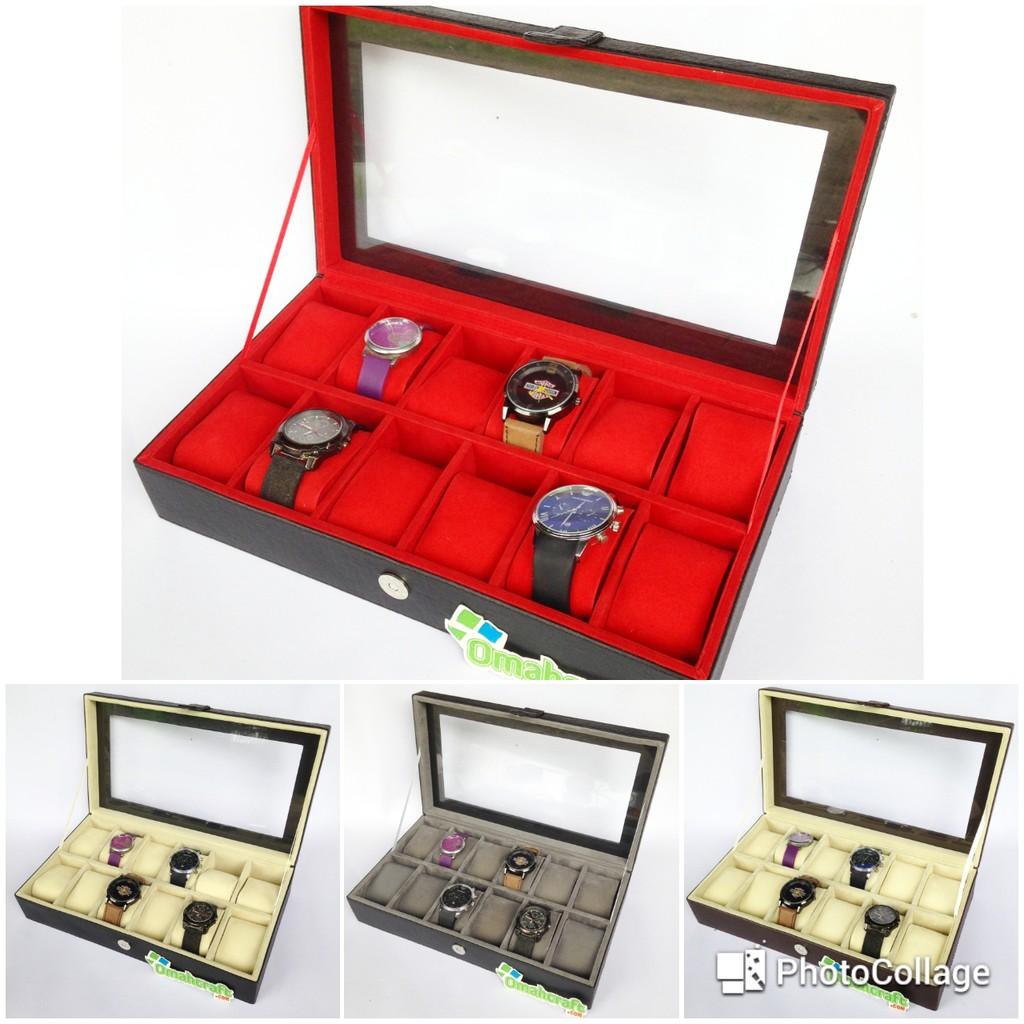 Brow Full Tempat Jam Isi 5 Jumbo Tangan Coklat For Traveler Box Sport Kotak 3 Shopee Indonesia