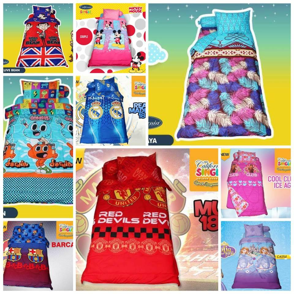 Ds Sprei Kintakun Dluxe Deluxe 120 Pisano 120x200 Single Size No3 X 200 Murah Shopee Indonesia