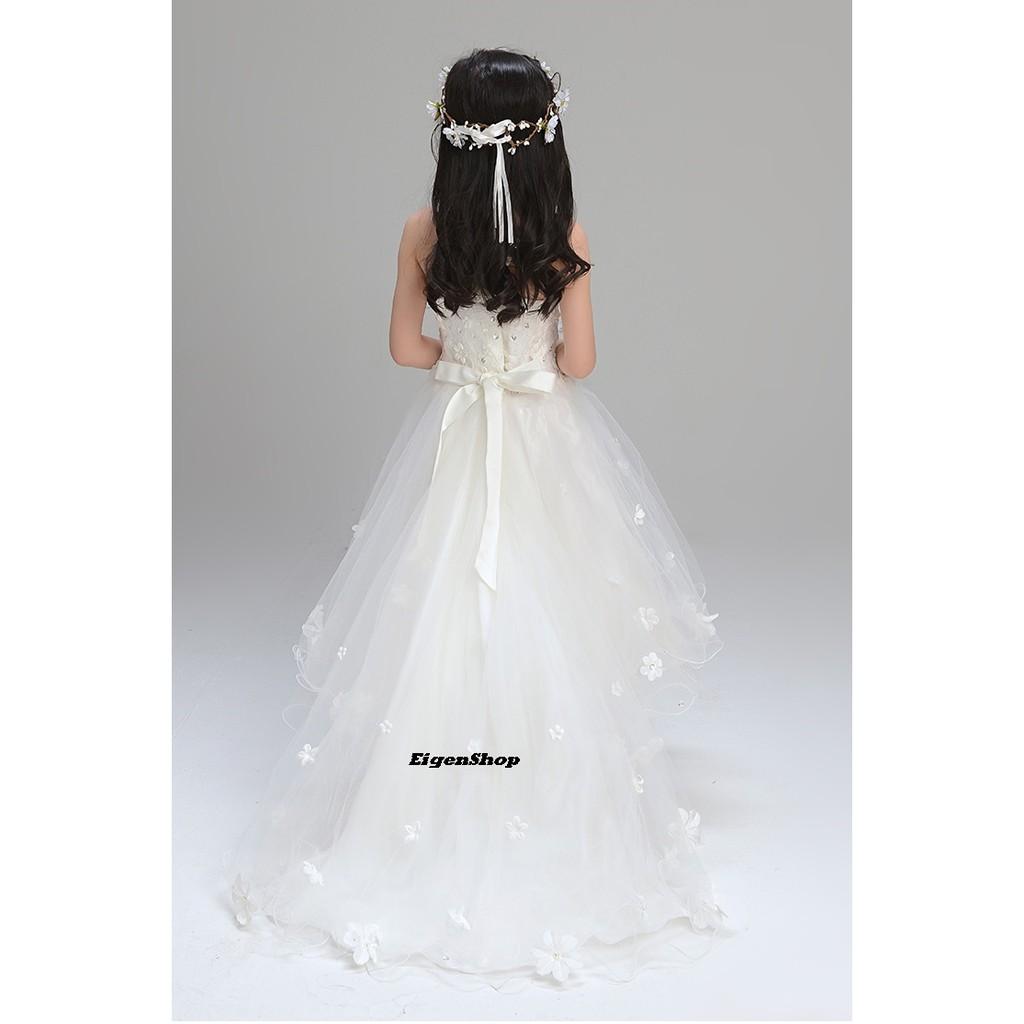 A10 Gaun Pesta Anak Gaun Pengantin Anak Dress Anak