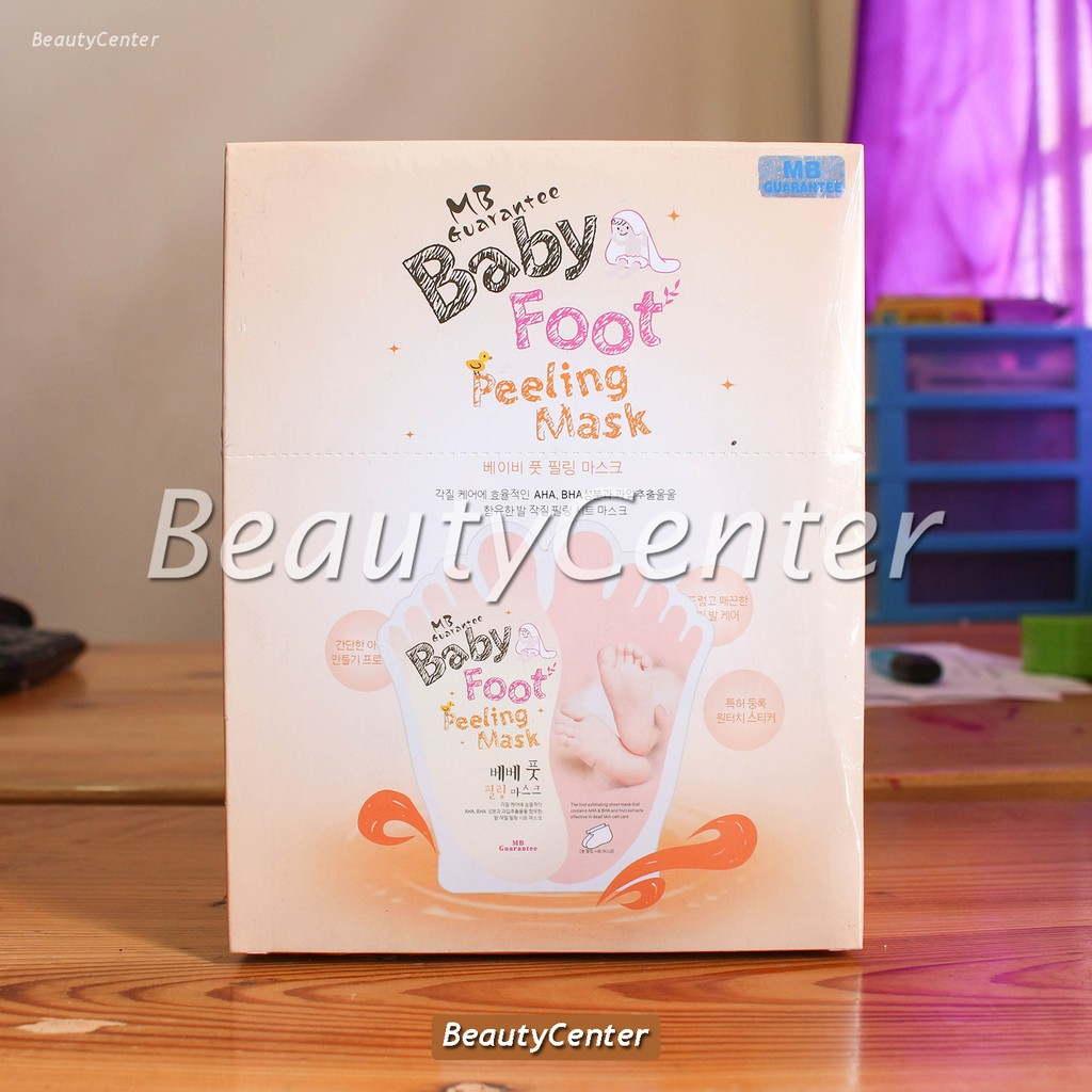 Baby Foot For Soft And Smooth Feet Masker Kaki Shopee Indonesia Holika Silky One Shot Peeling 20017555