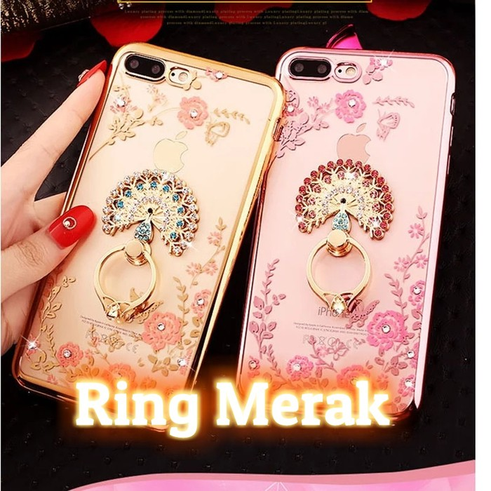 Case Ume Original List iRing Hardcase Sim Armor For Xiaomi Redmi 4A - Gold + Free Holder Gurita | Shopee Indonesia