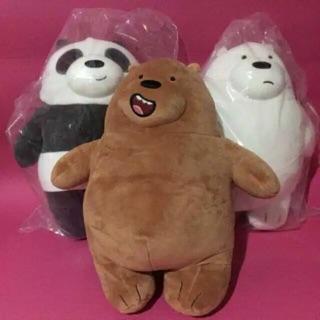 We Bare Bears Stand Boneka Miniso Original