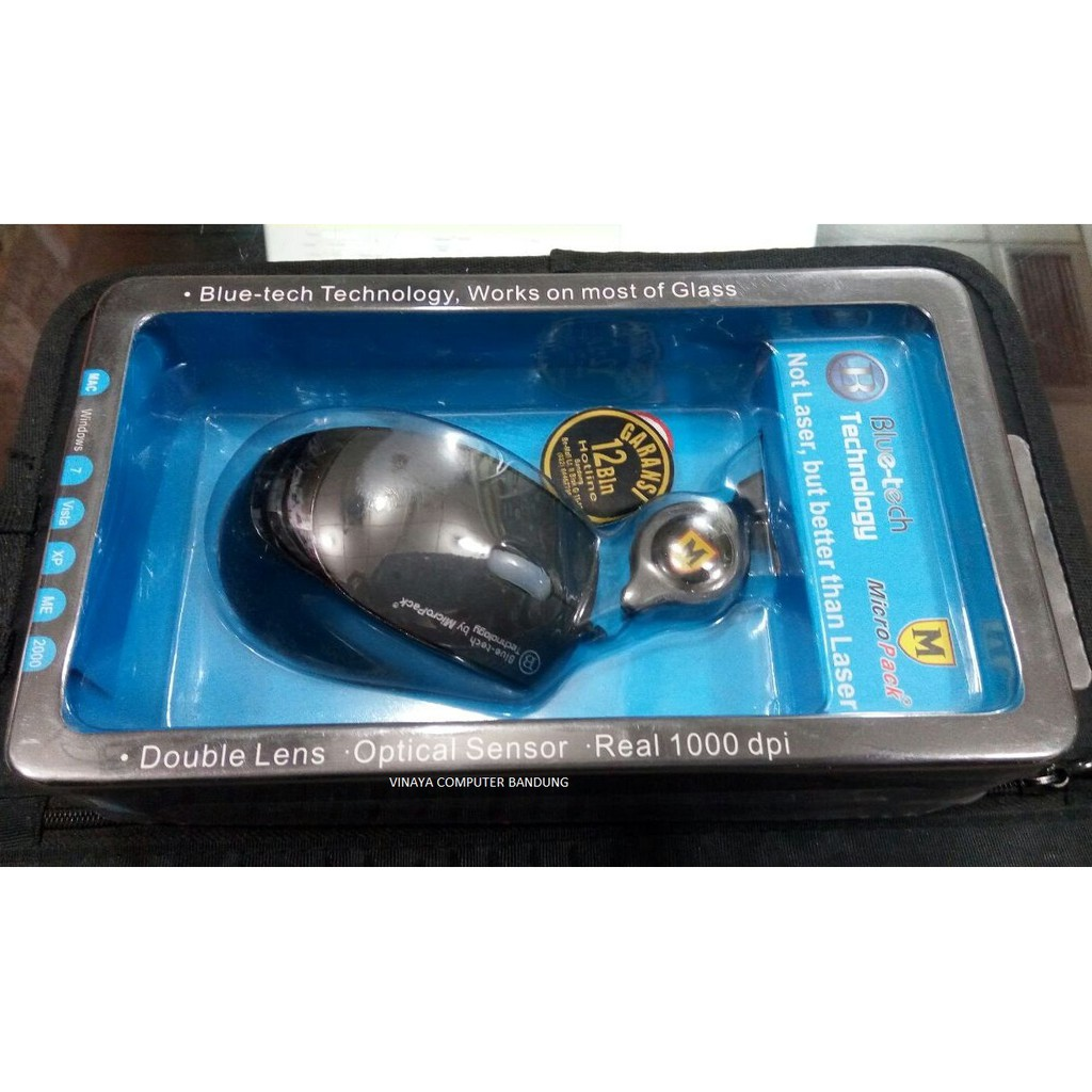 Mouse Blue Tech Micropack Zc Bt 2067r Grey Y Shopee Indonesia Double Lens Mp Y212r Black