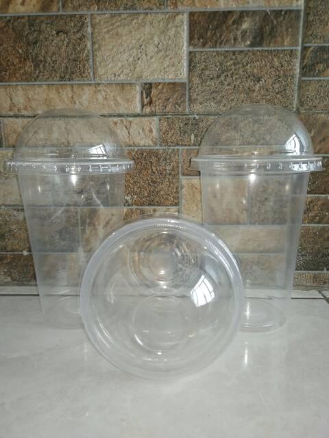 ... Gelas Plastik PP 16oz / 18oz Plastic Cup PP 16 oz / 18 oz PLUS TUTUP ...
