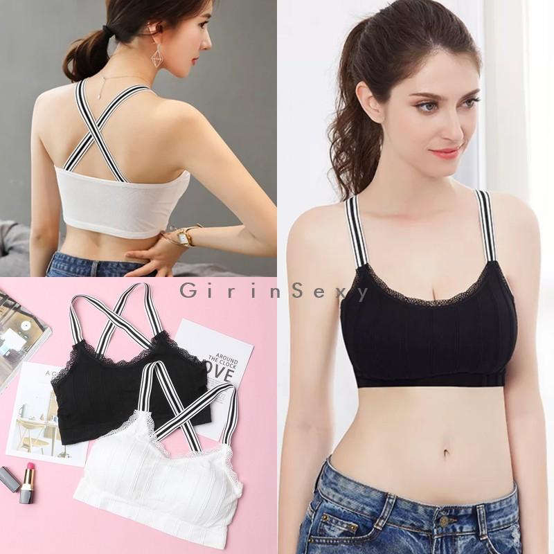 fa6b5c351b0 GS0093 Sexy bra silang depan BRALETTE By Girinsexy