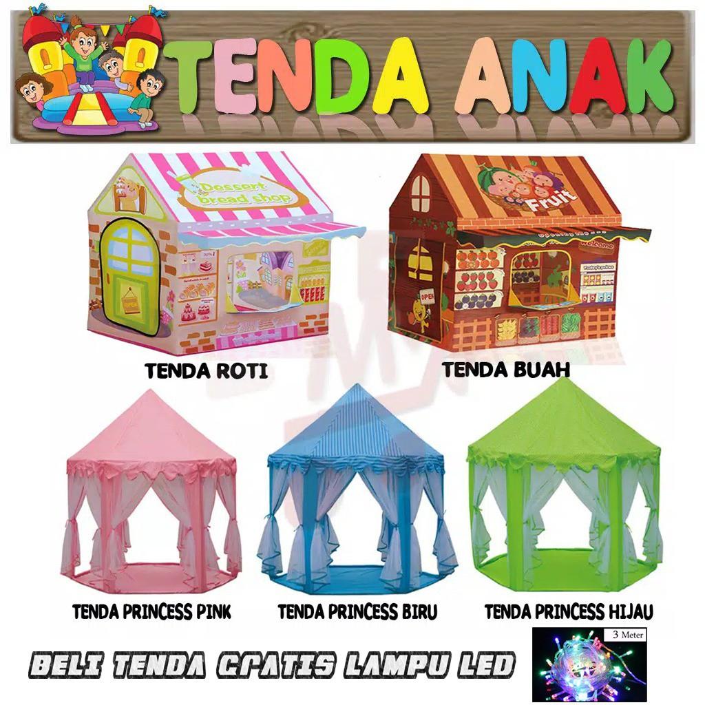 MAINAN ANAK BAYI KADO ULTAH - Tenda Anak Kastil Besar Tent Castle Indoor Outdoor Ukuran Besar | Shopee Indonesia