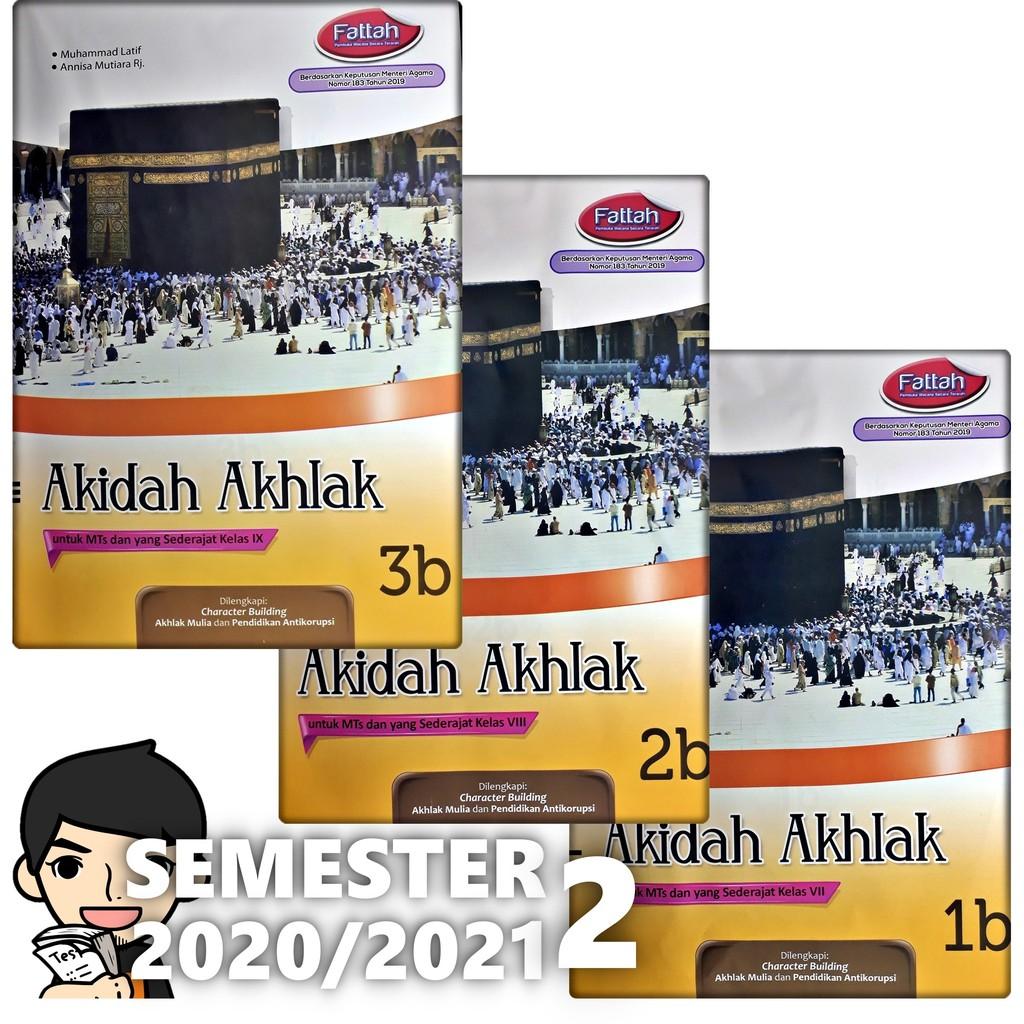 Lks Akidah Akhlak Mts Kelas 7 8 9 Semester 2 2020 2021 Zamrud Shopee Indonesia