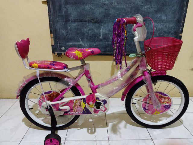 Sepeda Mini Anak Cewek Perempuan Merk Monchichi LOL ukuran