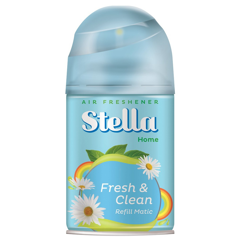 Up To 75 Discount From Brand Renata Lunaya Paket Stella Matic Refill Fresh Clean 225ml
