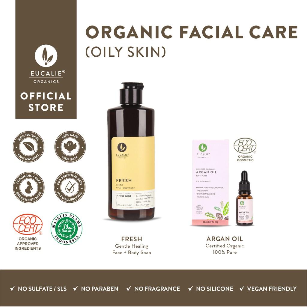 Eucalie Paket Oily Skin (Face)