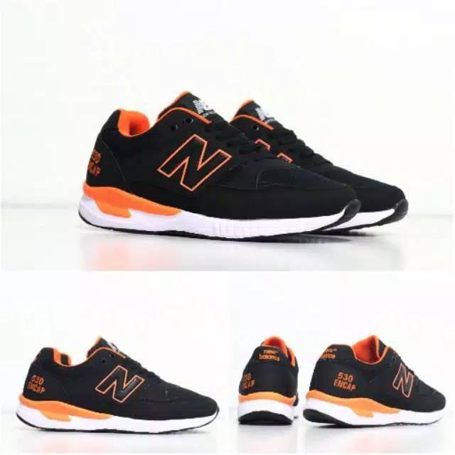 New Balance Size 39 43 Sepatu Pria Man Sneakers Casual Kets Abu Hitam Merah Sekolah,,,,,