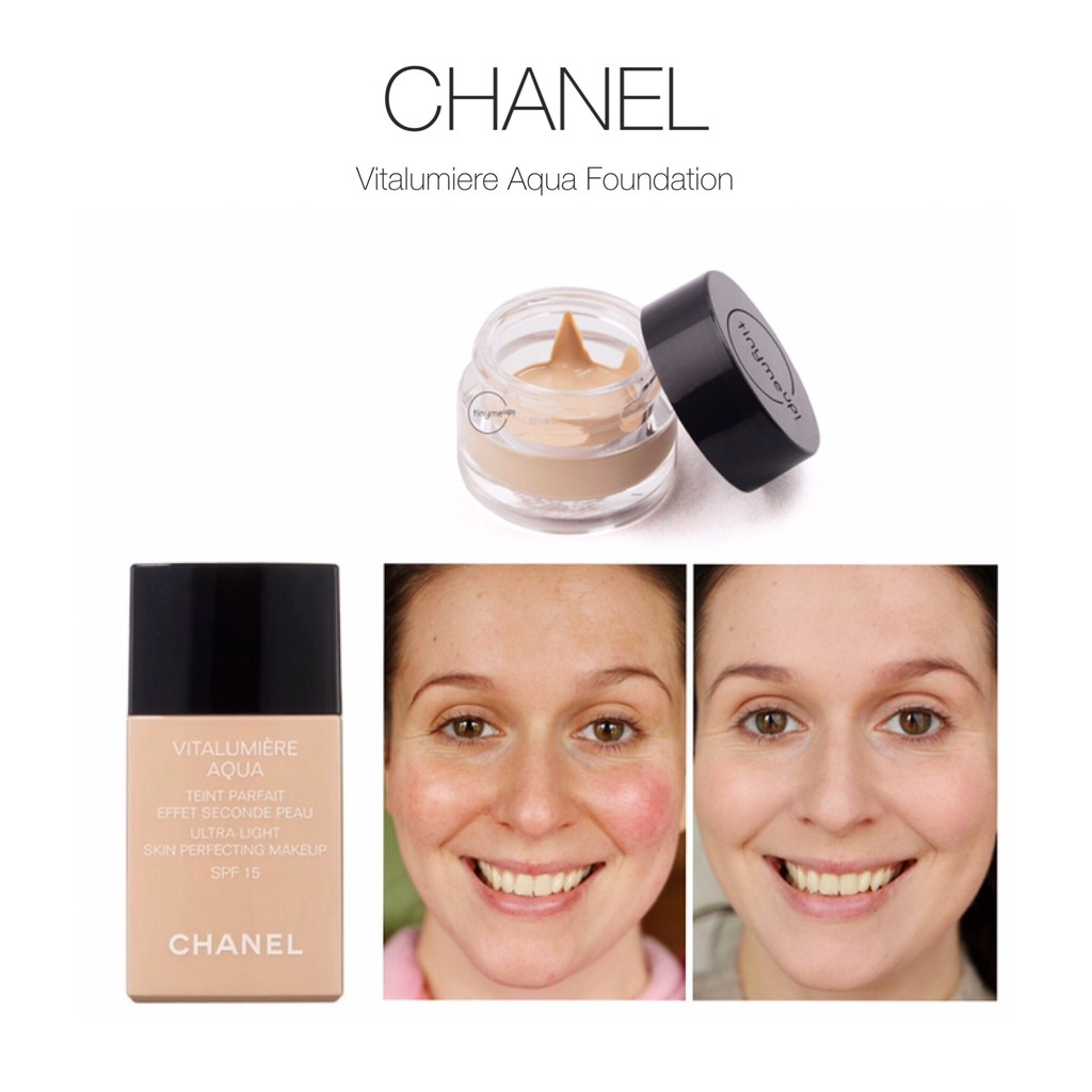 Chanel Vitalumiere Aqua Ultra Light Skin Perfecting Makeup Spf 15 Chance Edp Parfum Wanita 100 Ml Paket Make Up Exclusive Original Lipstik Shopee Indonesia