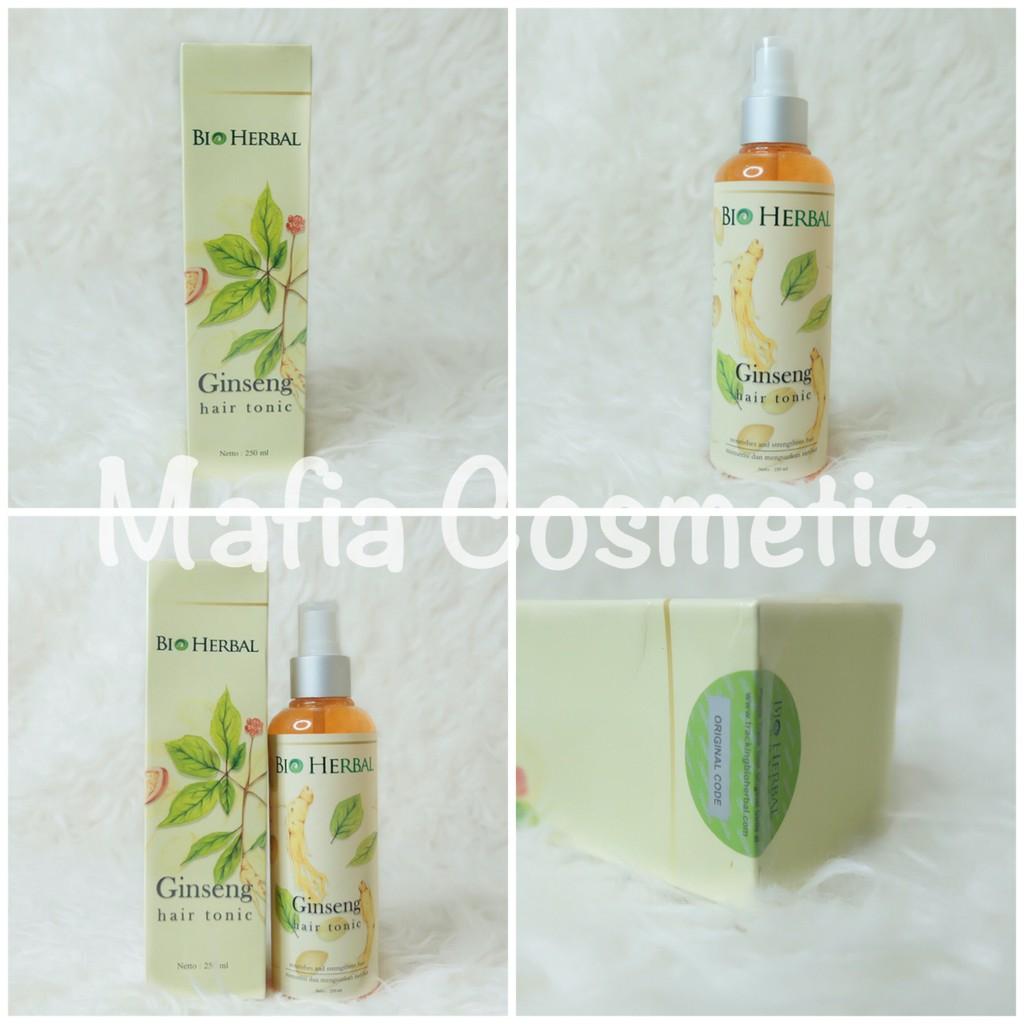 Bio Herbal Hair Tonic Ginseng 250 Ml Bpom Ori Shampo Shampoo Shopee Indonesia