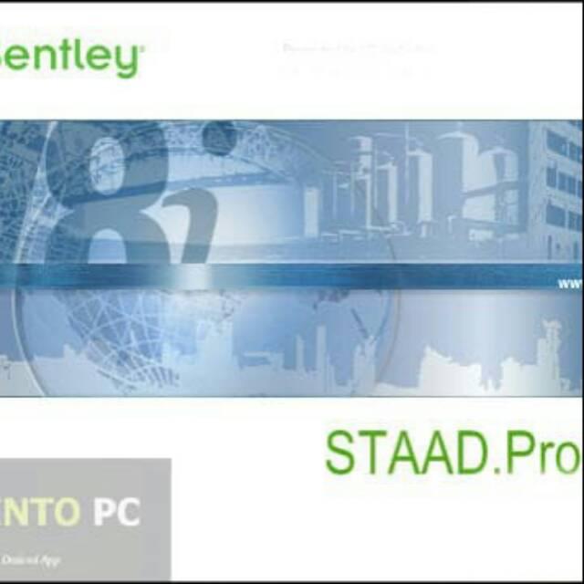 Bentley STAAD Pro V8i SS5 V20 & Foundation V8i SS4 V05