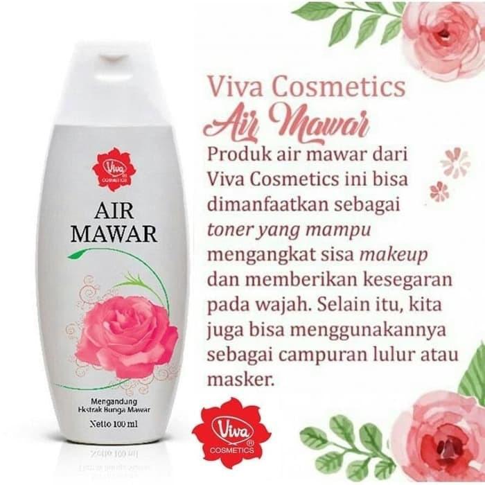 Air Mawar Viva 100 Ml Shopee Indonesia
