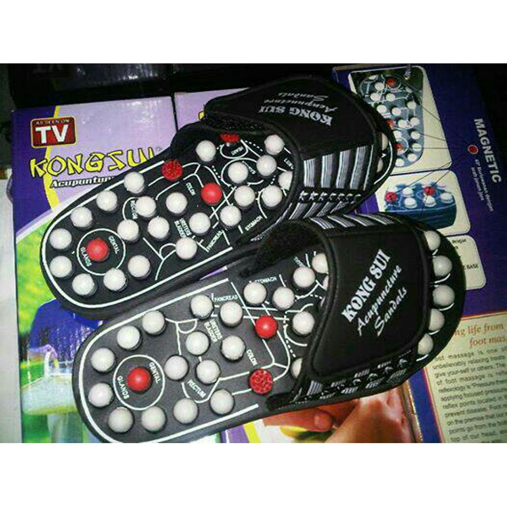 Blueldea Reflexology Sandals Sandal Terapi Kesehatan Refleksi Ukuran Sendal Lagi Promo Kongsui Shopee Indonesia