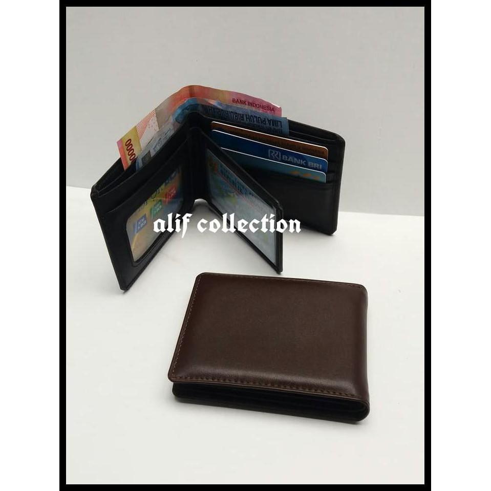 Toko Online Budiiriawan61 Shopee Indonesia Dompet Pria Kulit Sl001 Brown