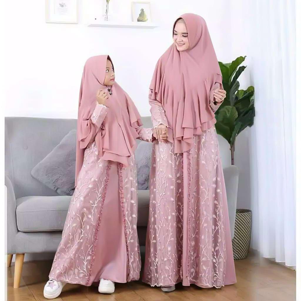 Harga Couple Ibu Anak Dress Muslim Terbaik Maret 2021 Shopee Indonesia