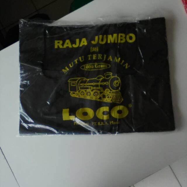 Kantong plastik kresek merah Loco ukuran 17-40 per 500 gram   Shopee Indonesia