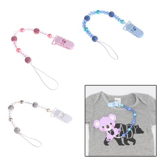 Newly Baby Dummy Pacifier Soother Nipple Leash Strap Chain Clip Holder Newest