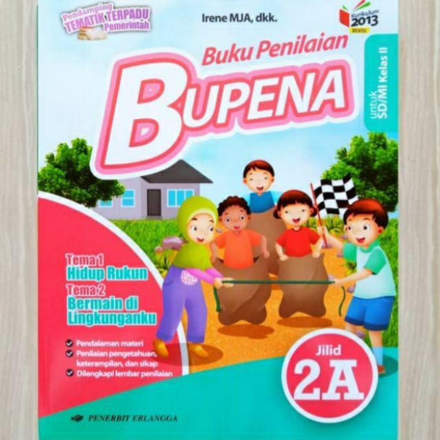 Bupena Buku Penilaian Kelas 2 A B C D Sd Mi K13 Tematik 2a 2b 2c 2d Shopee Indonesia