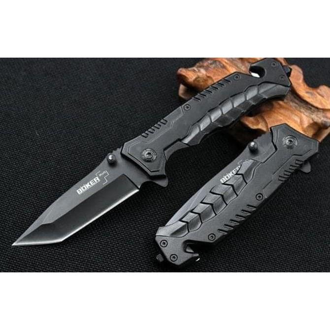 Pisau Lipat Karambit Unique Pattern Tactical Knife - Black OMHAW2BK | Shopee Indonesia